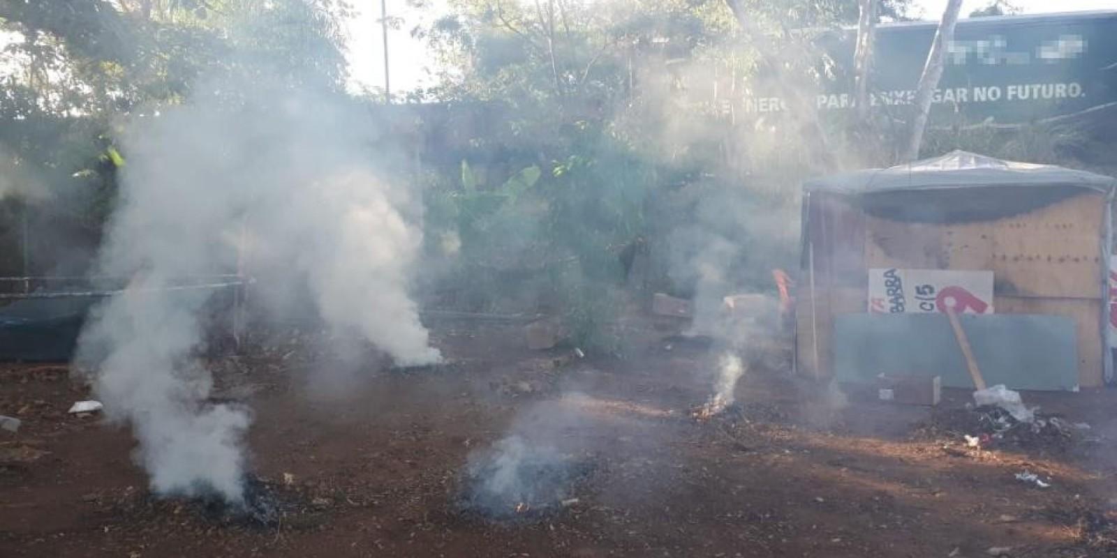 Morador do Jupiá é autuado em R$ 5 mil por incendiar resíduos em terreno