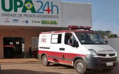 Moto se choca contra traseira de ônibus no cruzamento com a Elmano Soares