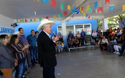 """Obras do CEI Professora """"Lilian Márcia Dias"""" são entregues à comunidade escolar"""