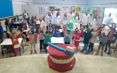 Saúde Bucal da ESF Interlagos leva orientação e prevenção às crianças do CEI do Bairro