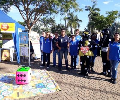 Saúde de Três Lagoas e Faculdades AEMS realizam ação conjunta contra o mosquito
