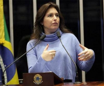 Senadora Simone Tebet vota pela derrubada do decreto das armas