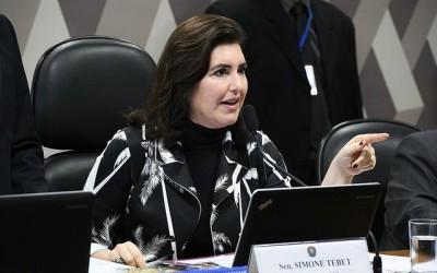 Simone Tebet diz que irá votar contra decreto das armas derrubado na CCJ