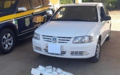 Traficante é preso com cocaína escondida em painel de carro na BR-262