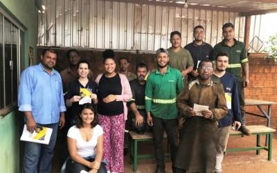 Vigilância em Saúde do Trabalhador de Três Lagoas conclui ação educativa de Prevenção de Queimaduras Oculares