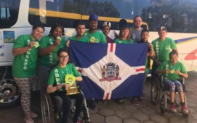 Atletas da APAE de Três Lagoas fazem bonito em Paralimpíadas Escolares em São Gabriel do Oeste