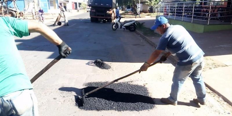 Bairros recebem constantemente ações de conservação da Secretaria de Infraestrutura