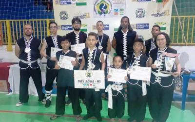 Com apoio da SEJUVEL, lutadores de Três Lagoas são campeões de Campeonato Brasileiro de Kung Fu