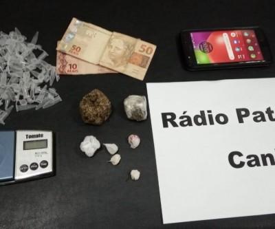 Disque de droga: homem é preso por tráfico ao realizar entrega de entorpecente na Clodoado Garcia