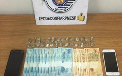 Em Araçatuba, mulher é presa com notas falsas e droga