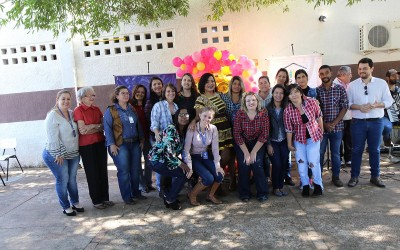 """Em clima de arraiá, servidores e usuários do CRAS """"São João"""" comemoram 12 anos de atividades"""