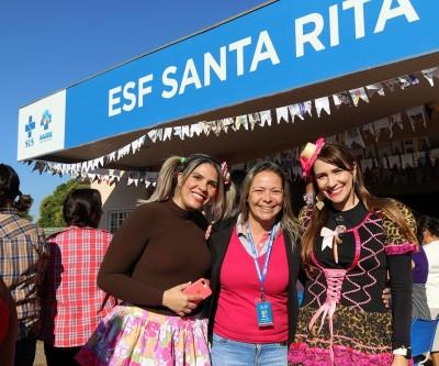ESF Santa Rita de Três Lagoas realiza Festa Julina para pacientes hipertensos e diabéticos