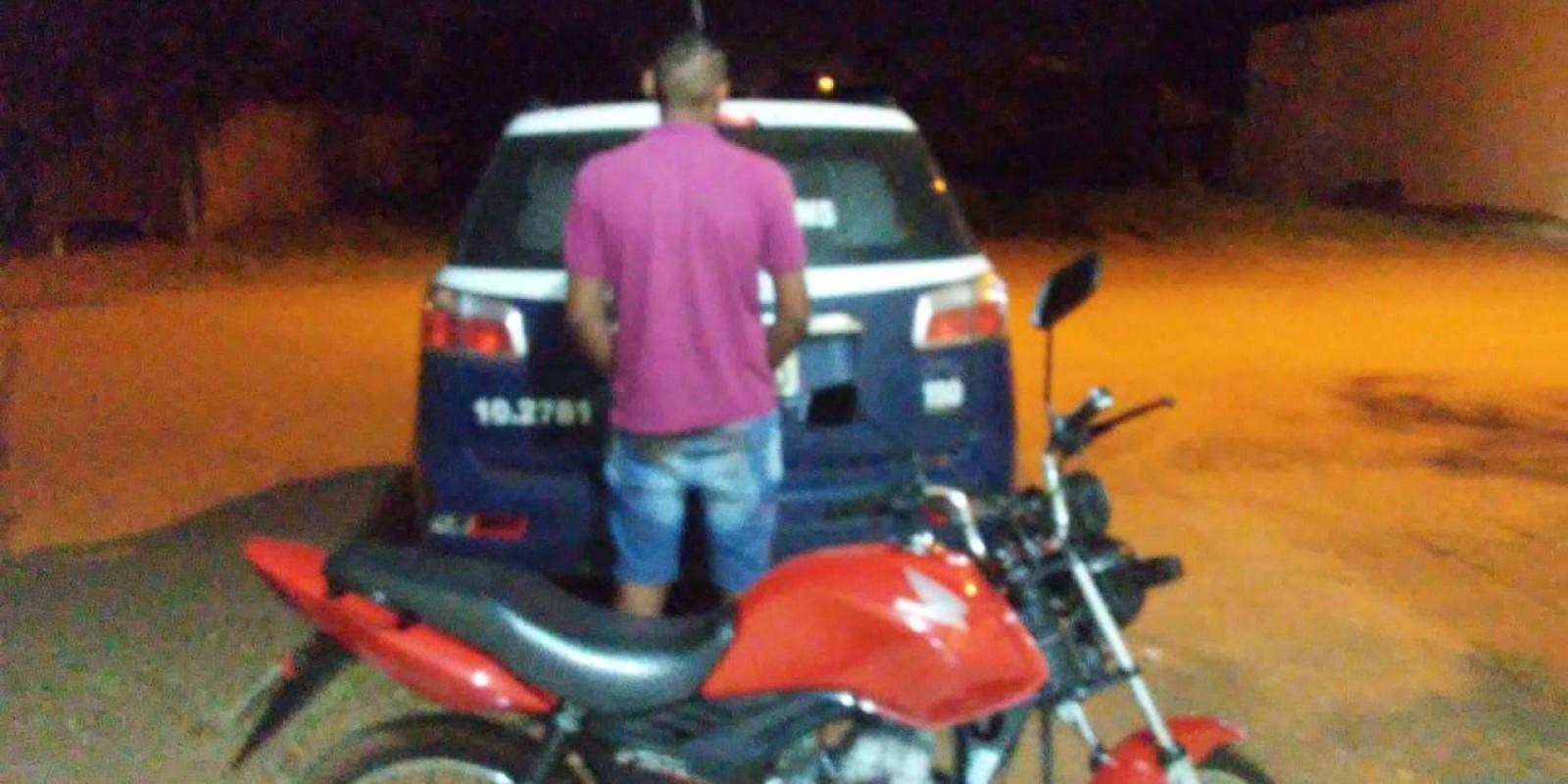 Estudante é detido após fugir da polícia no bairro Vila Alegre