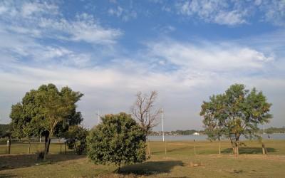Nesta sexta-feira (19), a temperatura máxima prevista é de 27ºC; os índices de umidade estão baixos