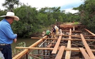 Obras de Infraestrutura melhoram qualidade de vida das famílias que vivem e trabalham na zona rural