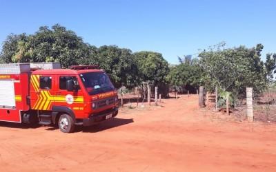 Pai que ateou fogo em assentamento e ameaçou a família é preso