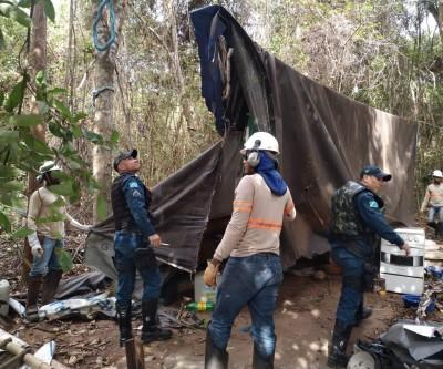 PMA e 2ºBPM desmontam acampamento irregular em área de preservação da Eldorado