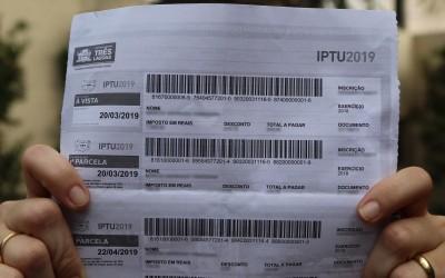 Quinta parcela do IPTU 2019 vencerá no dia 22 deste mês