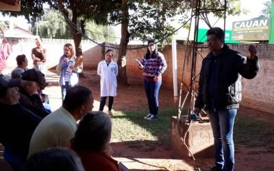Saúde realiza ações educativas e enfrentamento ao mosquito Aedes aegypti