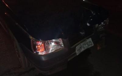 Sem habilitação, homem causa acidente no bairro Vila Nova