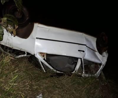 Vítimas de capotamento na BR-262, pai e filho são resgatados conscientes e orientados