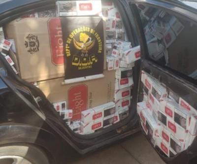 Cigarros contrabandeados que seriam entregues em Três Lagoas são apreendidos pelo DOF
