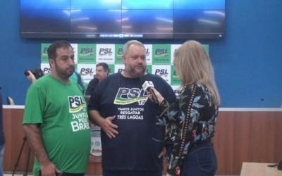 Capitão Contar participa de ato de filiação de novos membros do PSL em Três Lagoas