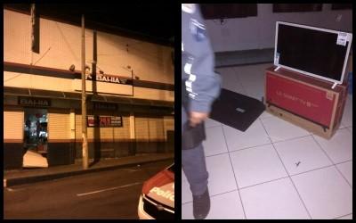 Casas Bahia de Andradina é furtada na madrugada: 25 celulares foram levados