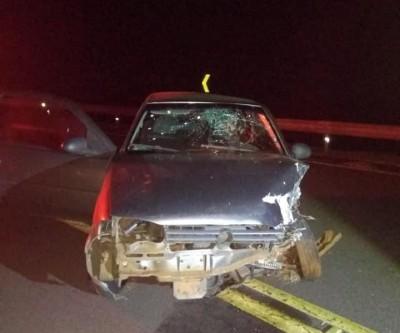 Detentos de saidinha batem carro roubado ao fugir da PM