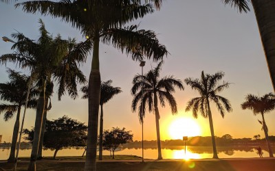 Em Três Lagoas (MS) a temperatura máxima prevista para hoje (1) é de 33ºC