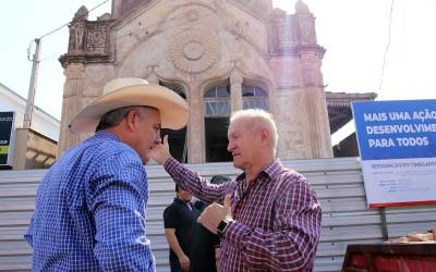 HISTÓRIA: iniciada a obra de restauração do Consulado Português de Três Lagoas