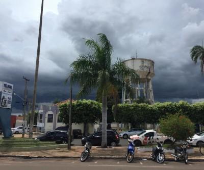 Instituto emite alerta de tempestade para Três Lagoas e mais 16 cidades de MS
