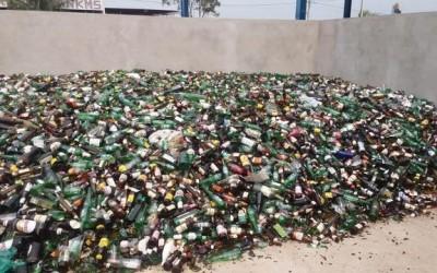 Meio Ambiente reforça ação para coleta seletiva de vidros