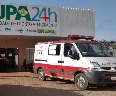 Motociclista se acidenta com fios pendurados no cruzamento da Trajano dos Santos com Urias Ribeiro
