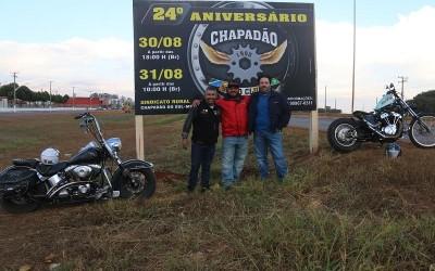 Motoclube Chapadão convida para comemorações do seu 24º aniversário