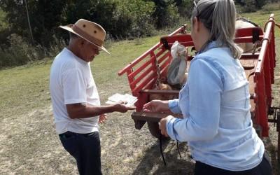 Na campanha de Multivacinação na Zona Rural, mais de 200 pessoas foram imunizadas