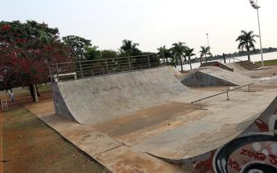 Promotoria de Meio Ambiente quer análise da possibilidade de retirar a pista de skate da Lagoa Maior