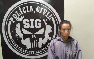 SIG cumpre mandado de prisão de acusada de estupro de vulnerável em Três Lagoas