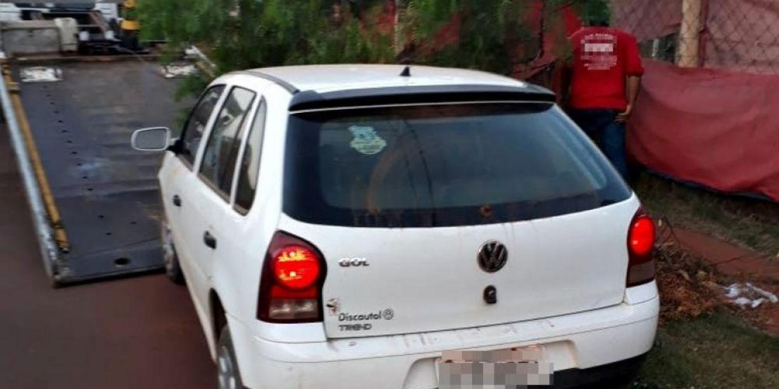 Carro furtado no Santos Dumont é recuperado pela polícia em menos 48 horas