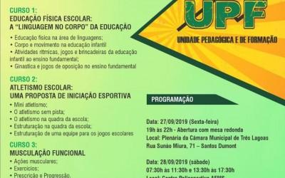 FUNDESPORTE realiza Cursos de Capacitação gratuitos para profissionais e estudantes de Educação Física de Três Lagoas