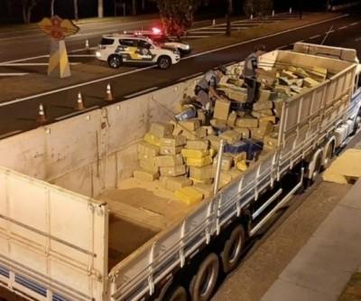 Morador de Dourados é preso em São Paulo com 11 toneladas de maconha