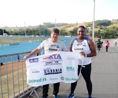 Três-lagoense Monique Anacleto fica entre as 13 melhores do País no Troféu Brasil Caixa de Atletismo