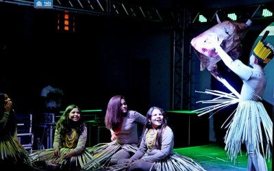 Alunos de teatro da Diretoria de Cultura apresentaram peças como conclusão de curso