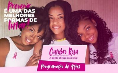 """Equipe da Clínica da Mulher promove o Dia """"D"""" de Prevenção no Outubro Rosa"""