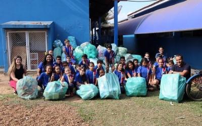 Gincana Reciclável promovida pela SEMEA já retira quase 30 toneladas de lixo reciclável da natureza