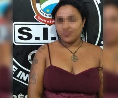 Mulher é presa em flagrante por receptação e tráfico de drogas no bairro Vila Maria
