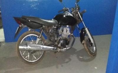 PM de Água Clara recupera duas motocicletas em menos de 24 horas após terem sido furtadas