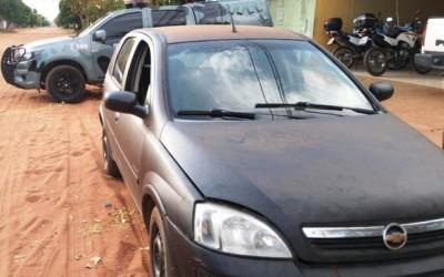 Veículo furtado no Estado de SP é recuperado pela PM em Três Lagoas