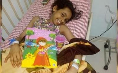 Criança de 11 anos pede doação de medula óssea; mãe está desesperada