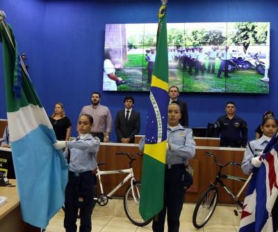"""Assistência Social de Três Lagoas promove graduação do SCFV """"Patrulha Mirim Rodoviária"""""""